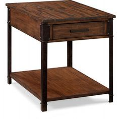 Magnussen Larkin Table De Bout Rectangulaire End Tables Furniture Sofa End Tables