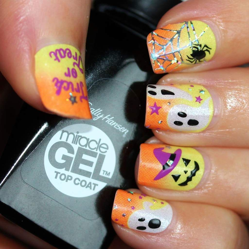 Kiss Nail Dress Halloween HKDS15 | #NailArt - Nail Wraps | Pinterest ...