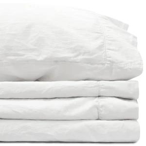 Relaxed Cotton Sateen Sheet Set In 2020 Sateen Sheets Sheet Sets Sateen