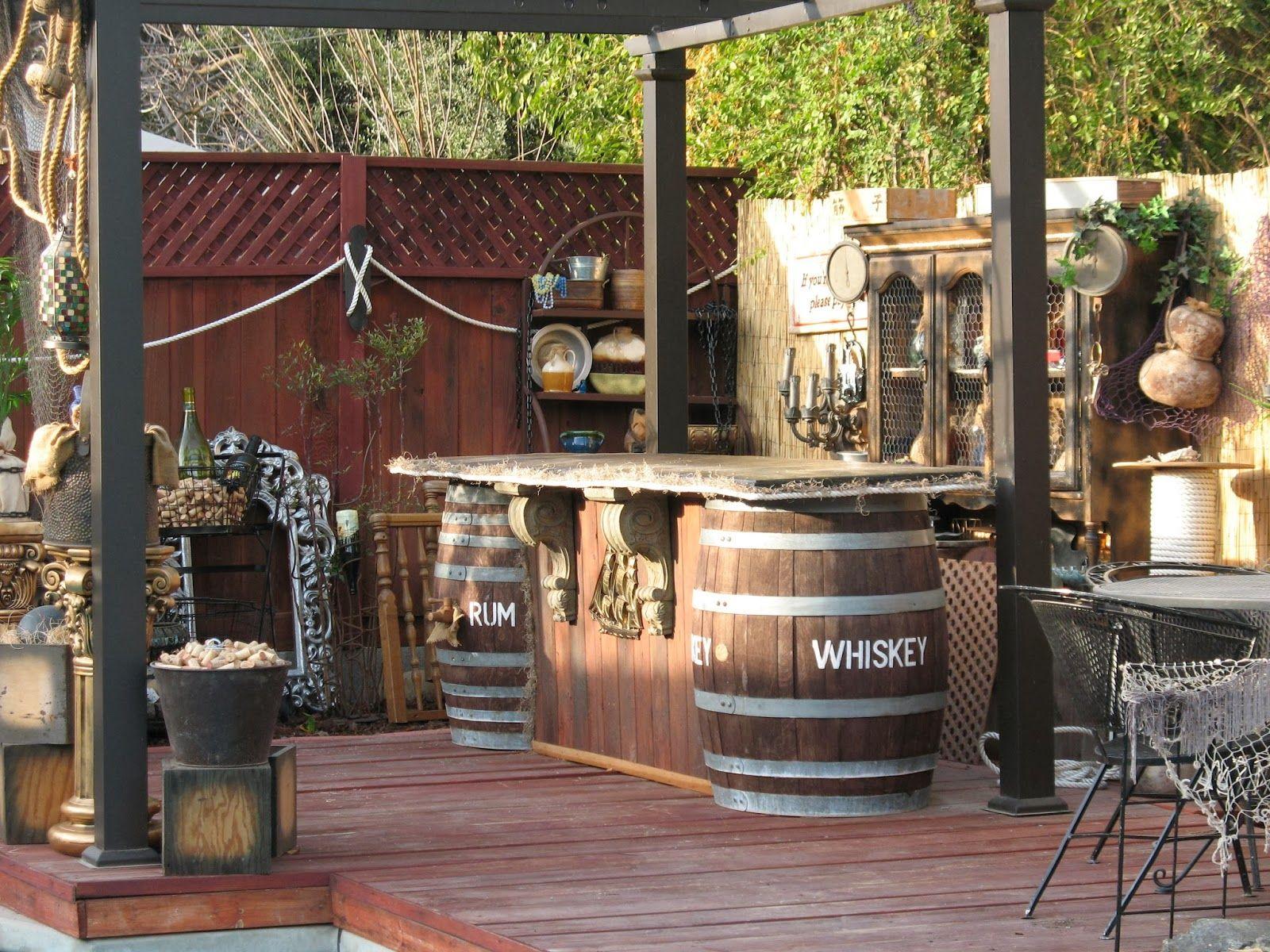 Pirate bar decor ideas pinterest backyard and