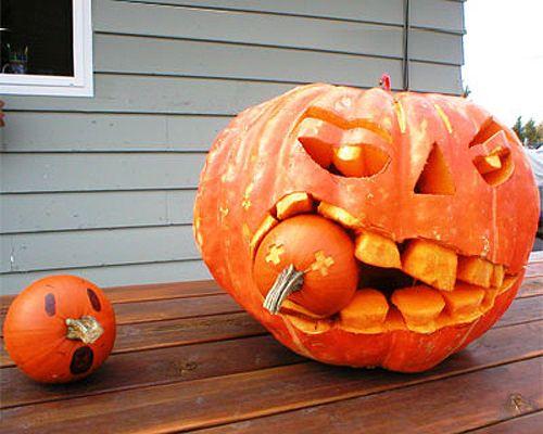 10 Amazing Pumpkin Creations From This Old House Halloween ideas - fun halloween ideas