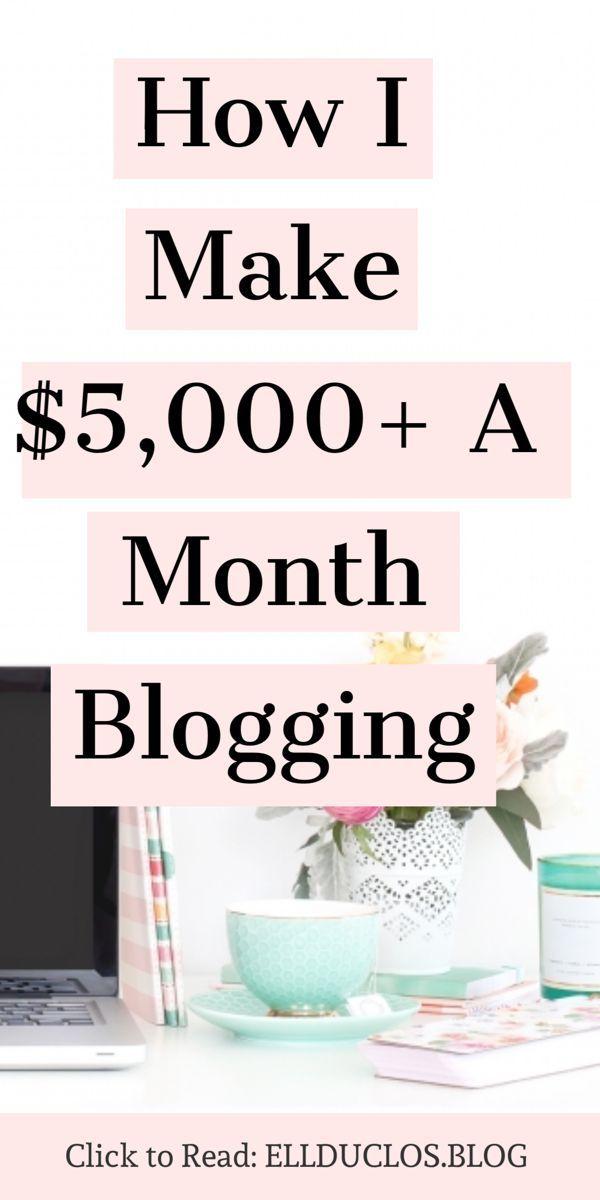 how to make money blogging blog full time