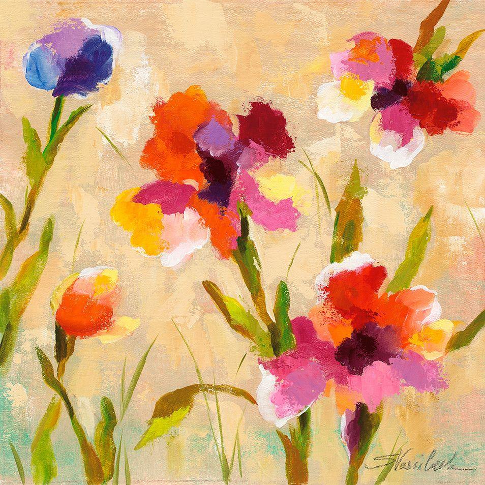 Masterpiece Art - Bold Bright Flowers III, $18.30 (http://www ...