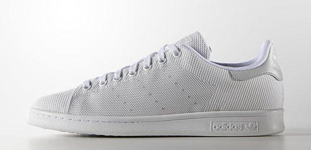 Adidas Originals Stan Smith tissu weave gris #sneakers
