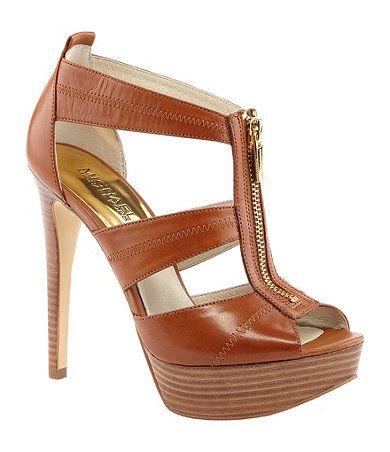 dillards michael kors shoes