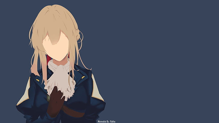 Pin On Violet Evergarden Posters Anime Minimalist Etsy