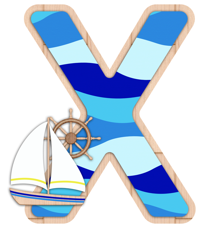 X.. ‿ Nautical letters