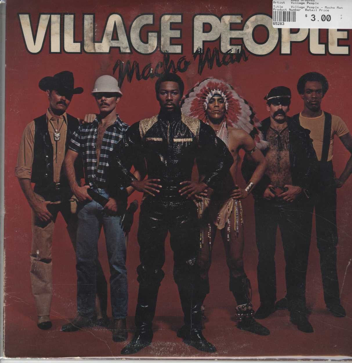 Village People Macho Man Village People Macho Man My Childhood Memories