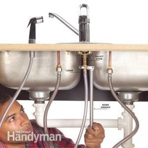 How To Fix A Leaking Sink Sprayer Faucet Repair Kitchen Faucet With Sprayer Diy Plumbing