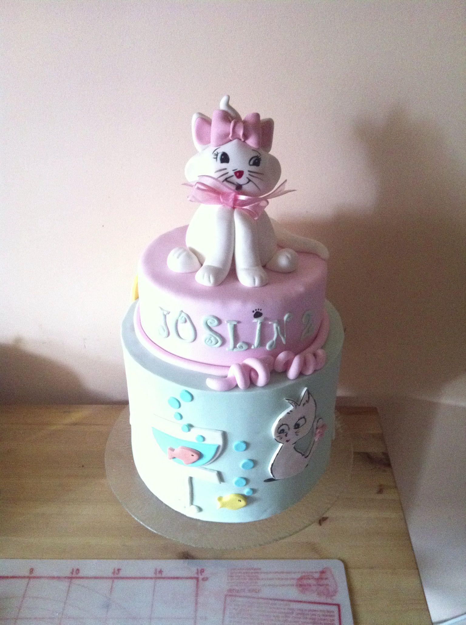 Cat Lover cake birthday cake Pinterest Cat lovers Cake and