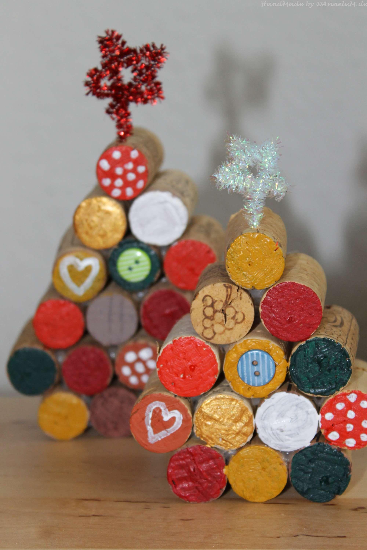 Weihnachtsbaum Aus Kork Christmastree Cork Handmade By Annelum De
