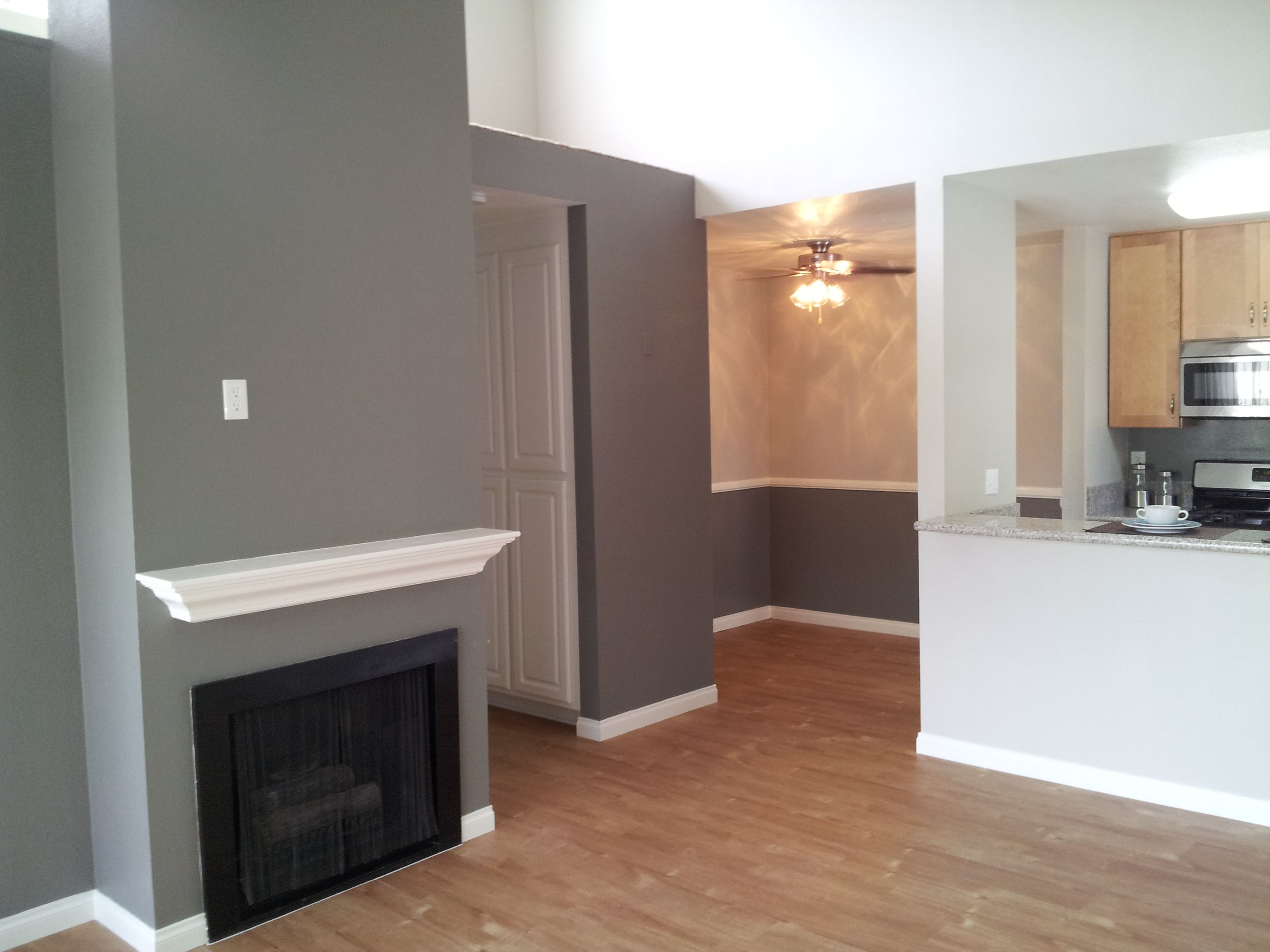 New color scheme at mesa pines revere pewter and chelsea for Benjamin moore chelsea gray