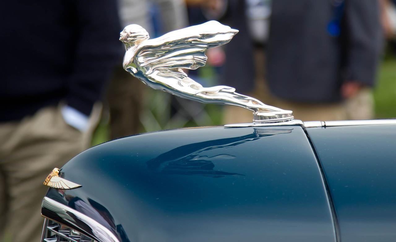 Cool hood ornaments - 1934 Cadillac 452d Fleetwood Convertible Sedan Hood Ornament