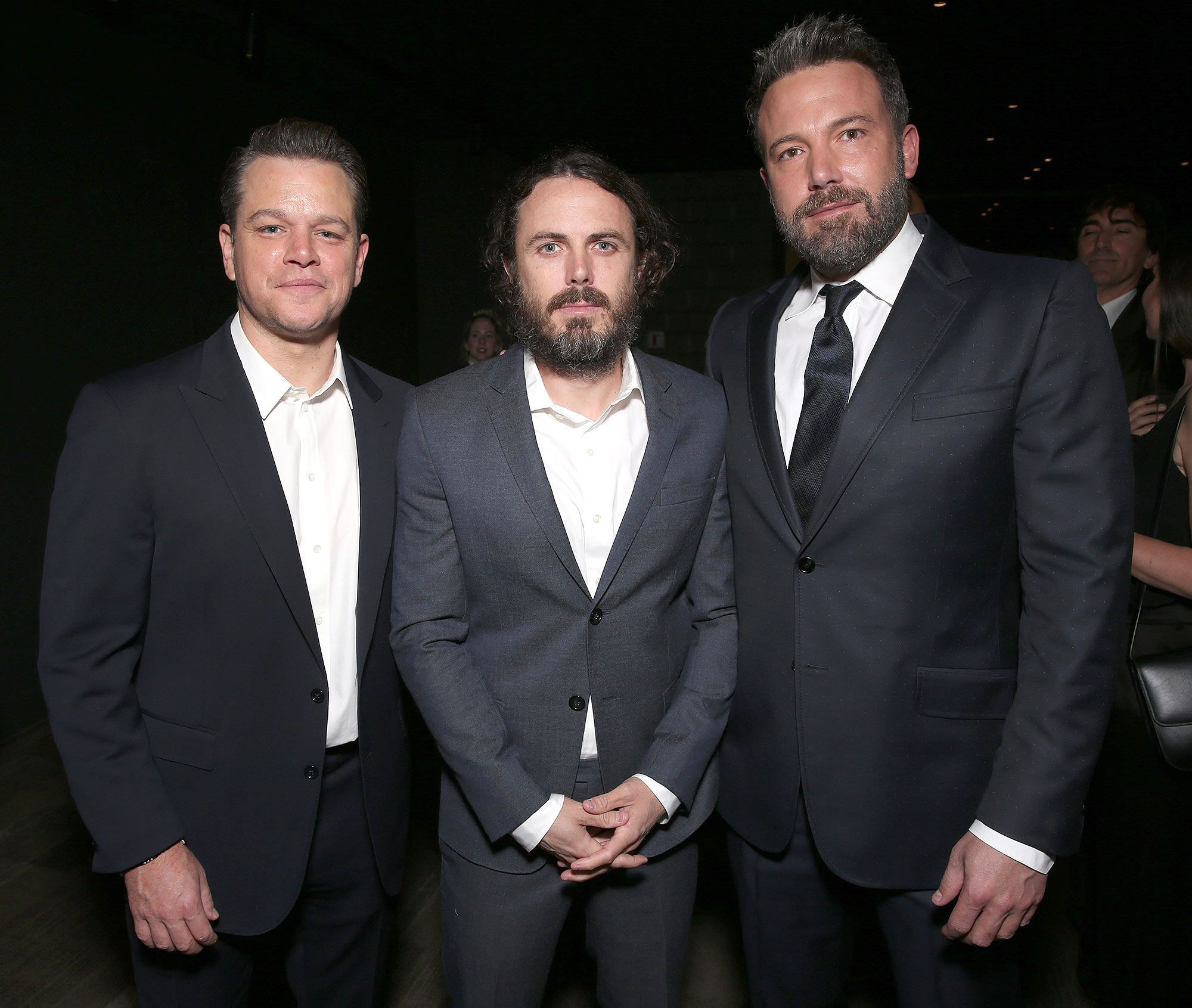 Casey And Ben Affleck And Matt Damon From Boston To Oscar Matt Damon Ben Affleck Street Film