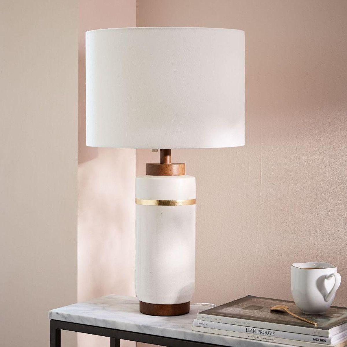 Roar Rabbit Crackle Glaze Ceramic Table Lamp Large West Elm