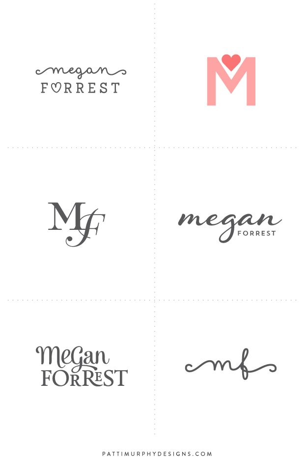 Logo Exploratory \/\/ Patti Murphy Designs feminine, life coach - coaching resume