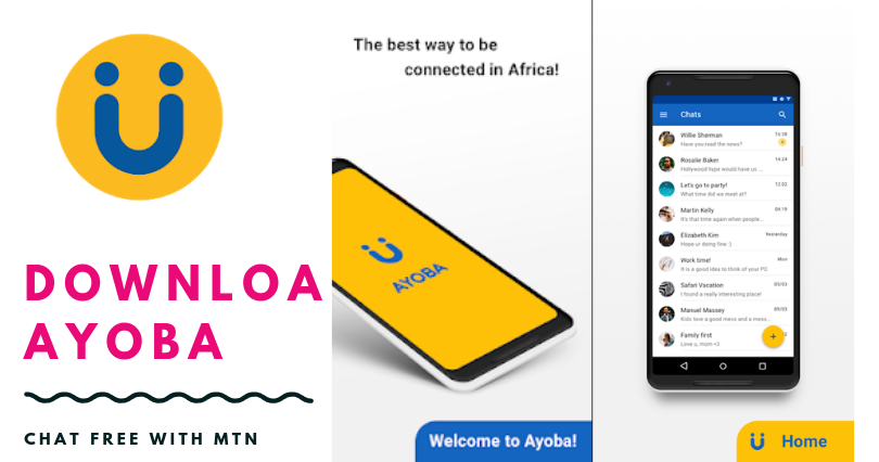 AYOBA INSTANT MESSAGING APP CHAT FREE WITH MTN CAMEROON