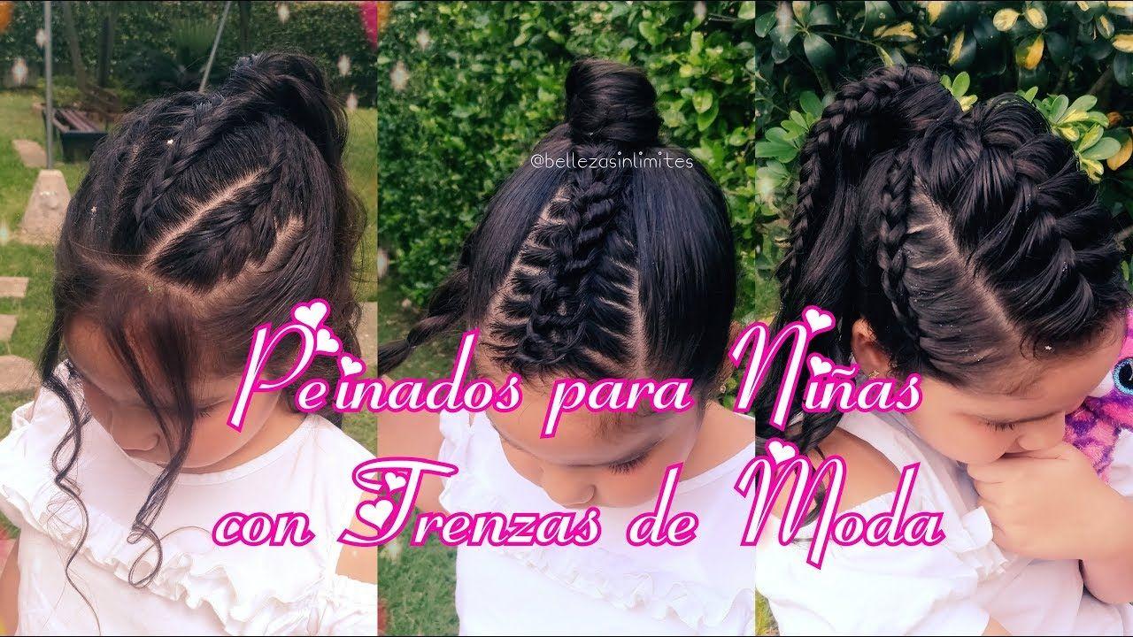 peinados para niñas con trenzas de moda hairstyles for girls by