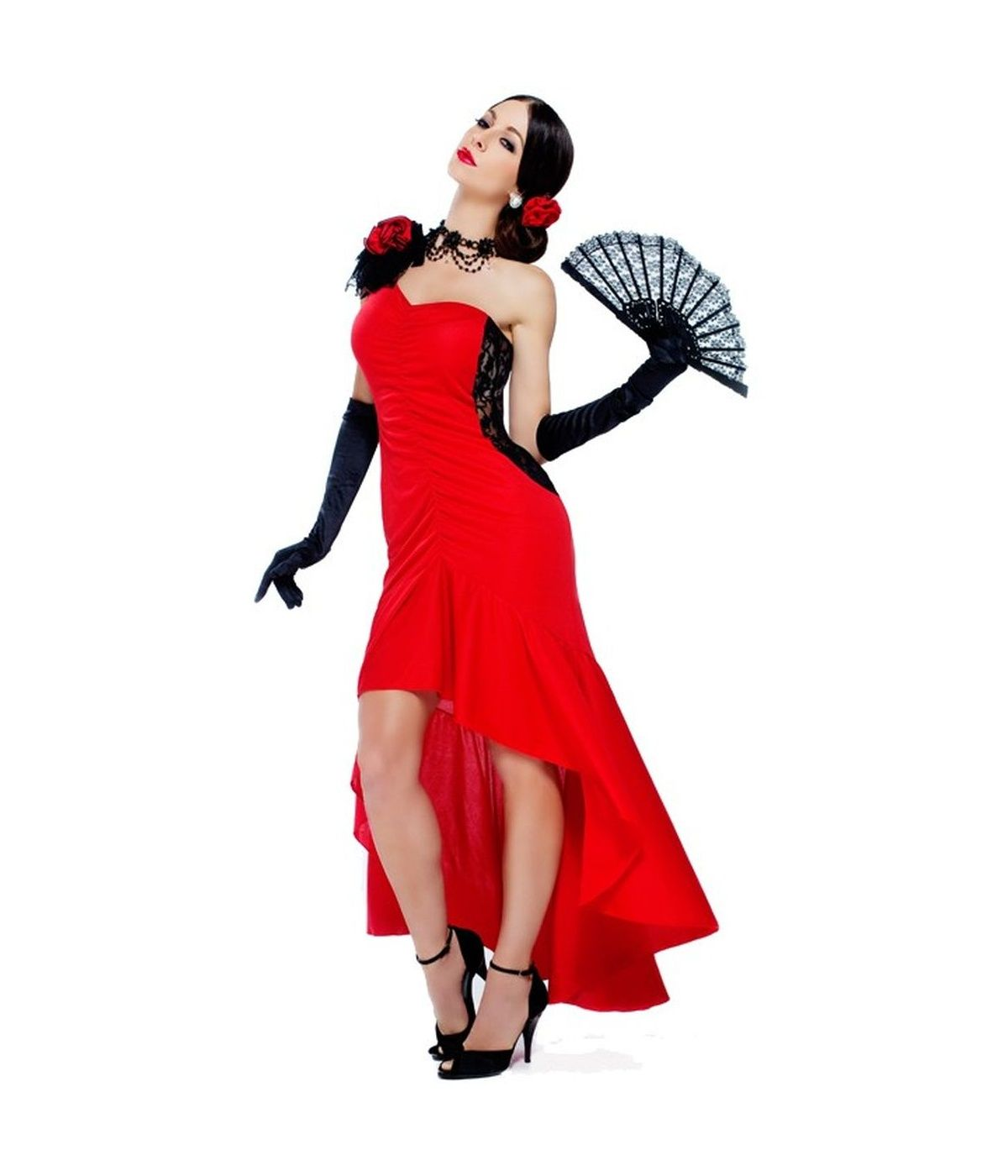 Sizzling senorita womens spanish dancer costume 2015 costumes sizzling senorita womens spanish dancer costume solutioingenieria Images
