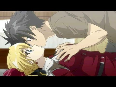 Top Ten Anime Kiss Scenes