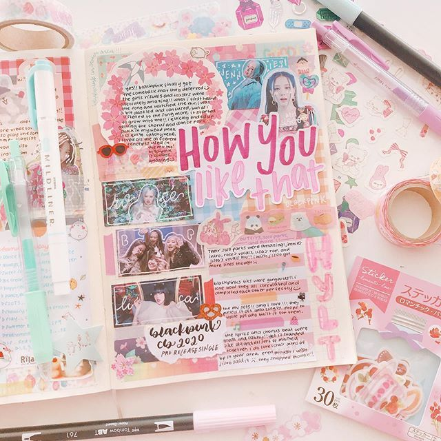 35 Bullet Journal Ideas That Kpop Fans Will Adore - KAYNULI
