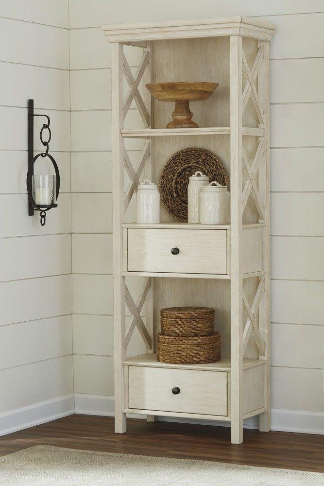 Bolanburg - Antique White - Display Cabinet