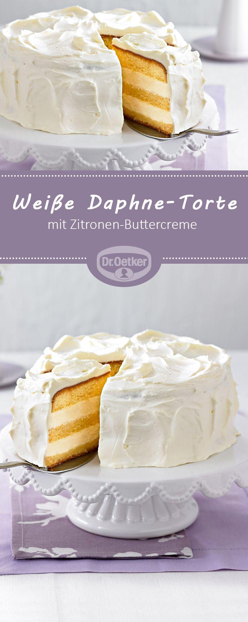 Weiße Daphne-Torte #chocolatepeanutbutterpokecake