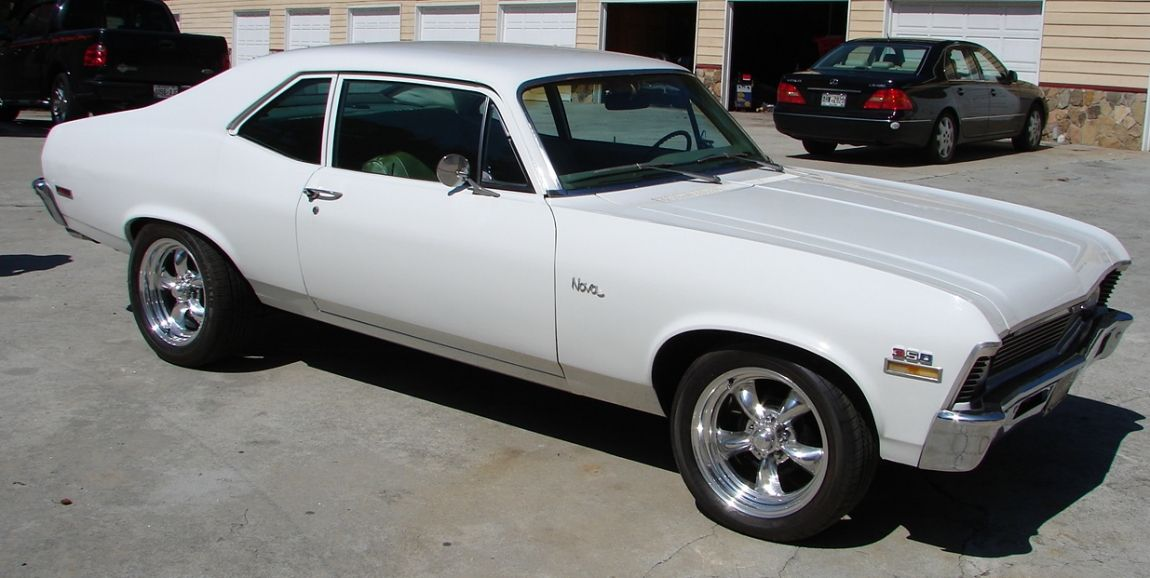 White 70 Chevy Nova Lost Sold The One I Had Was Not As Nice As This But This Is The