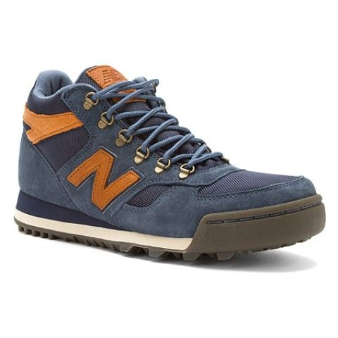 Mens New Balance Shoes H710 Navy Suede Mesh