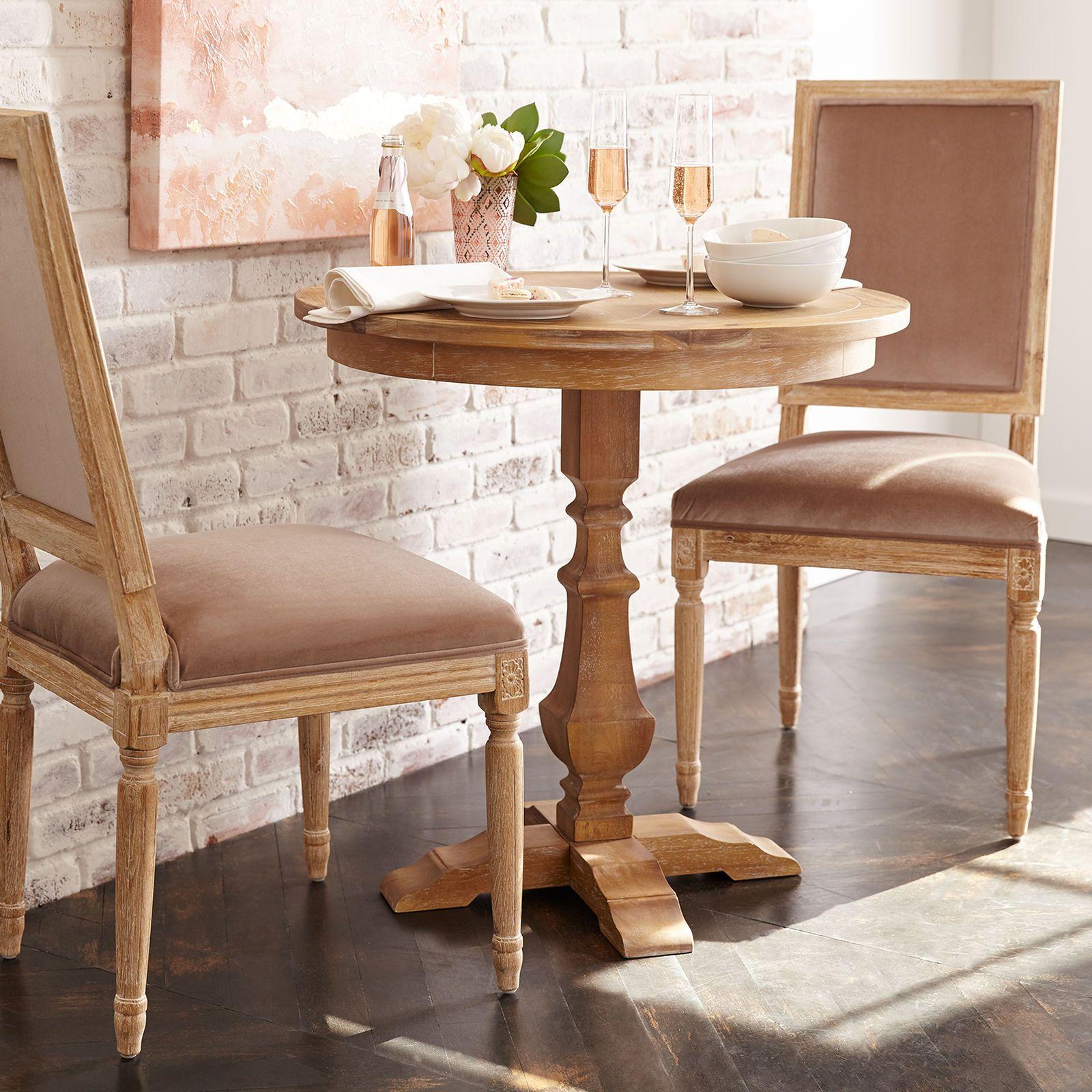 Bradding Natural Stonewash 30 Bistro Table Pier 1 Imports Dining Room Table Dining Room Small Bistro Table Set