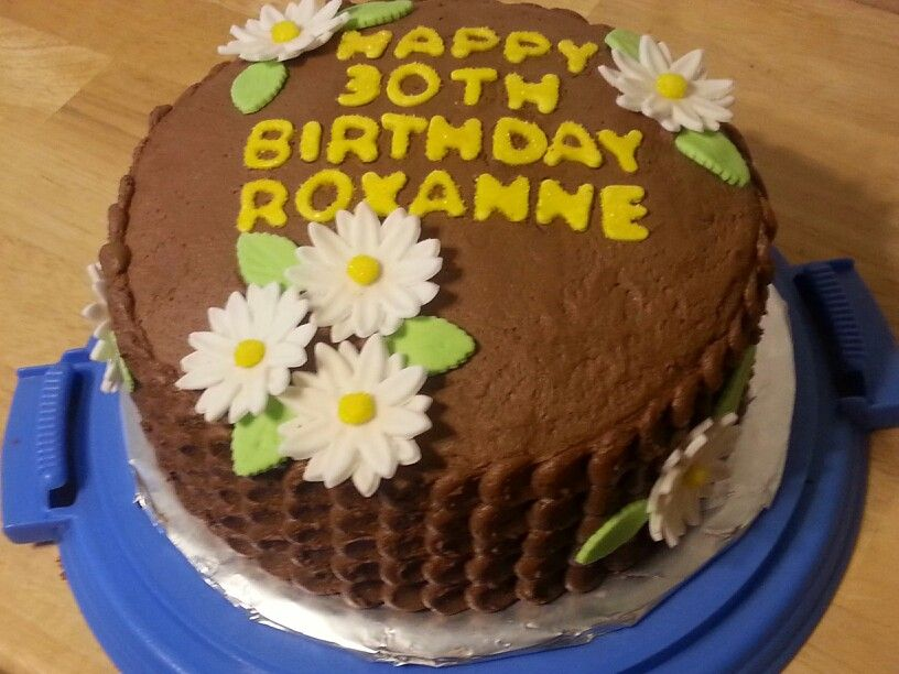 30 th birthday cake