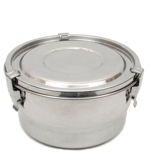 Stainless Steel Airtight Watertight Food Storage Container 14 cm