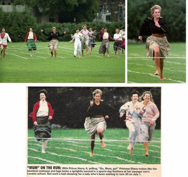 Education 1991 Sports Day Sprint Race. _