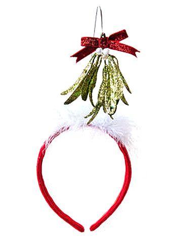 0e1e1f7cfb711 Mistletoe Kisses Headband - PLASTICLAND