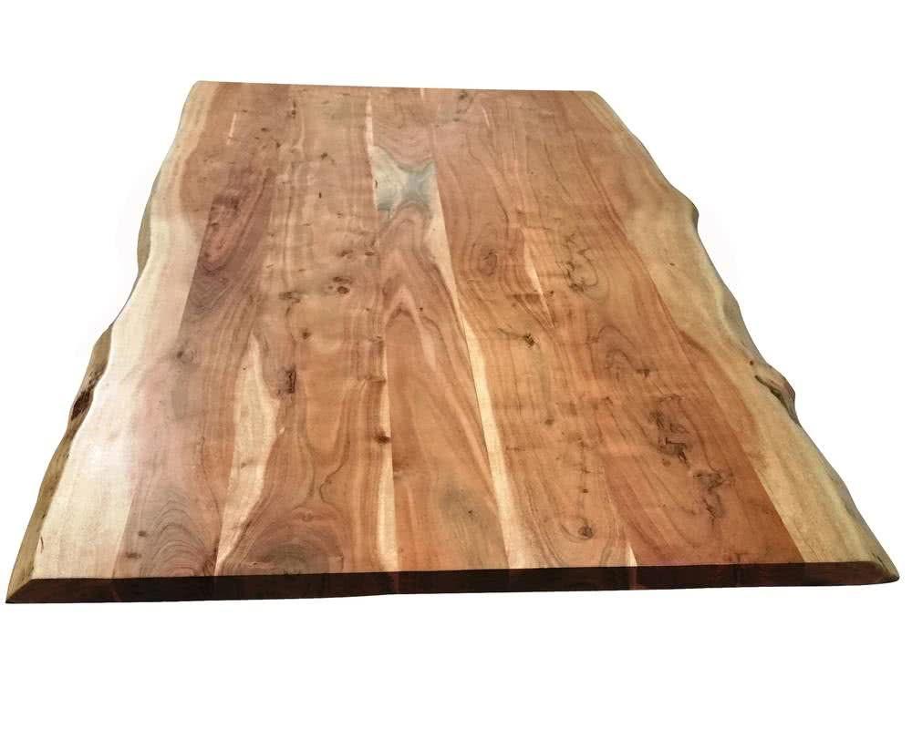 Sit Tops Tables Tischplatte Akazie Baumkante Artikelbild Esstisch Massivholz Esstisch Baumkante Esstisch