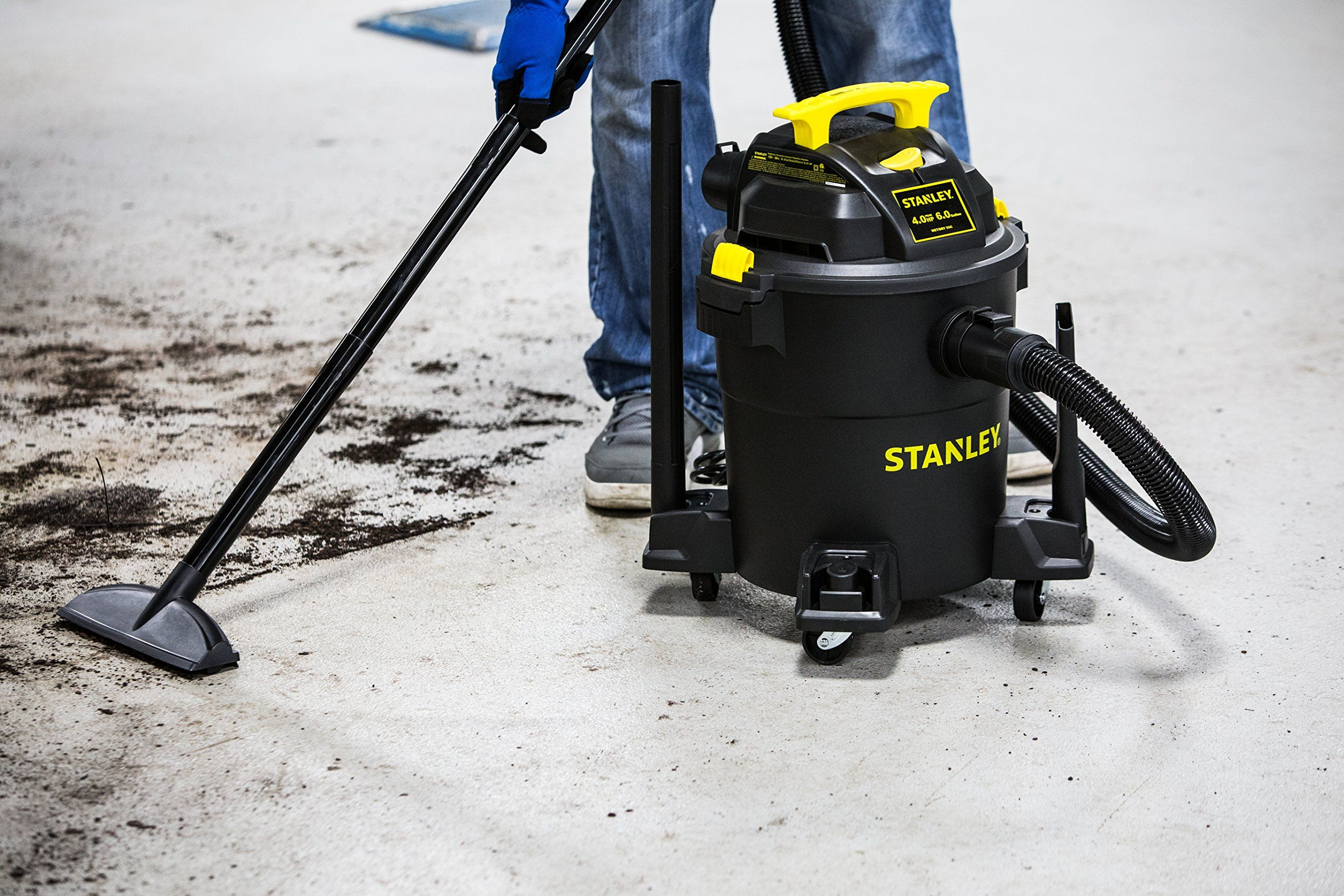 Stanley Wet Dry Vacuum 6 Gallon 4 Horsepower Ad Dry Ad Wet Stanley Horsepower Wet Dry Vacuum Shop Vacuum Vacuums