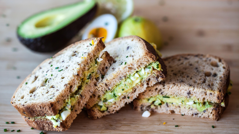 Avocado-Eiersalat Sandwich #schaer