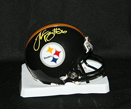 1fb5ca55e17 LeVEON BELL Signed Pittsburgh Steelers MINI Helmet Autograph JSA Witness  COA     Check out the image by visiting the link. (Note Amazon affiliate  link)