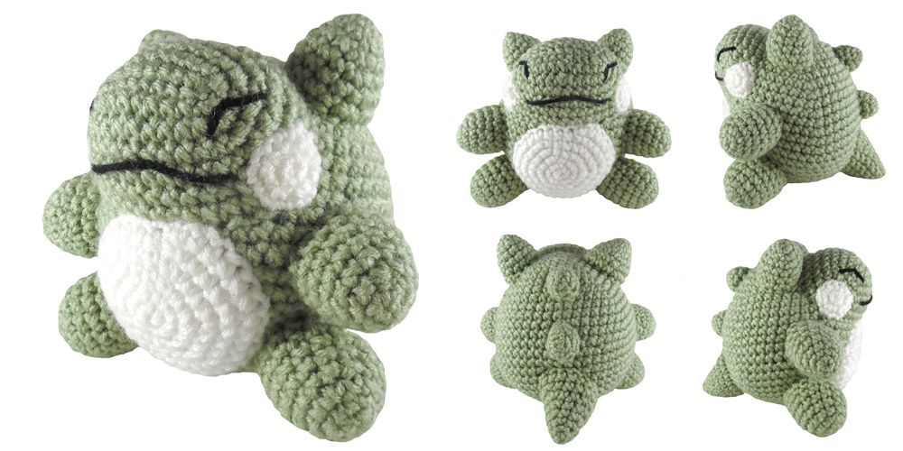 Free Pattern Pokemon Substitute Doll Amigurumi | Projects to Try ...