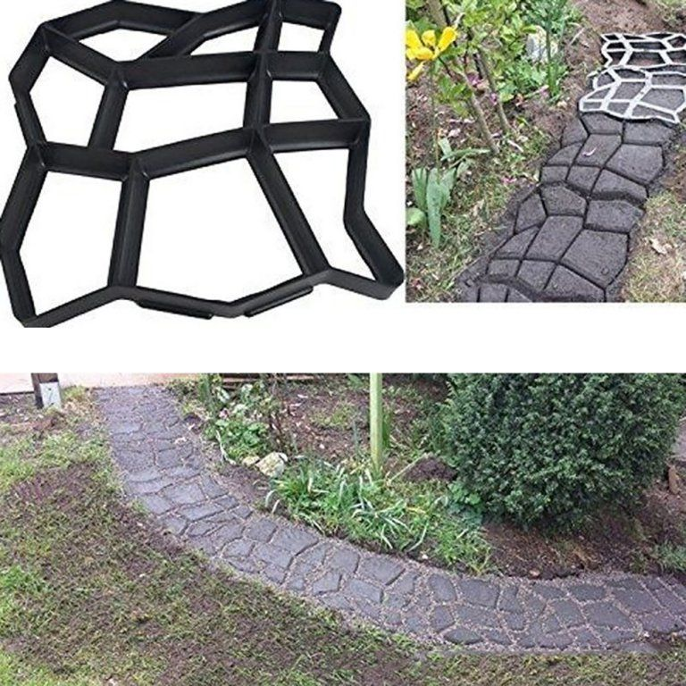 concrete stepping stone molds