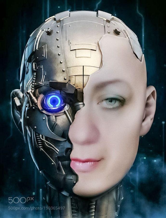 пользуются человек робот картинки глаза