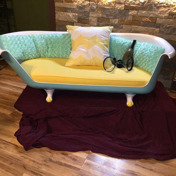 Claw Foot Bath Tub Sofa By Industrialdesignrush On Etsy