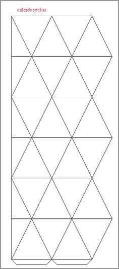 Flextangles template | Papelitos de colores... | Pinterest ...