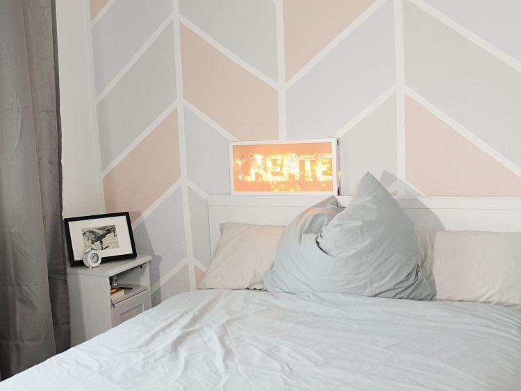 Muster Schlafzimmer ~ Die besten chevron muster wände ideen auf glitter