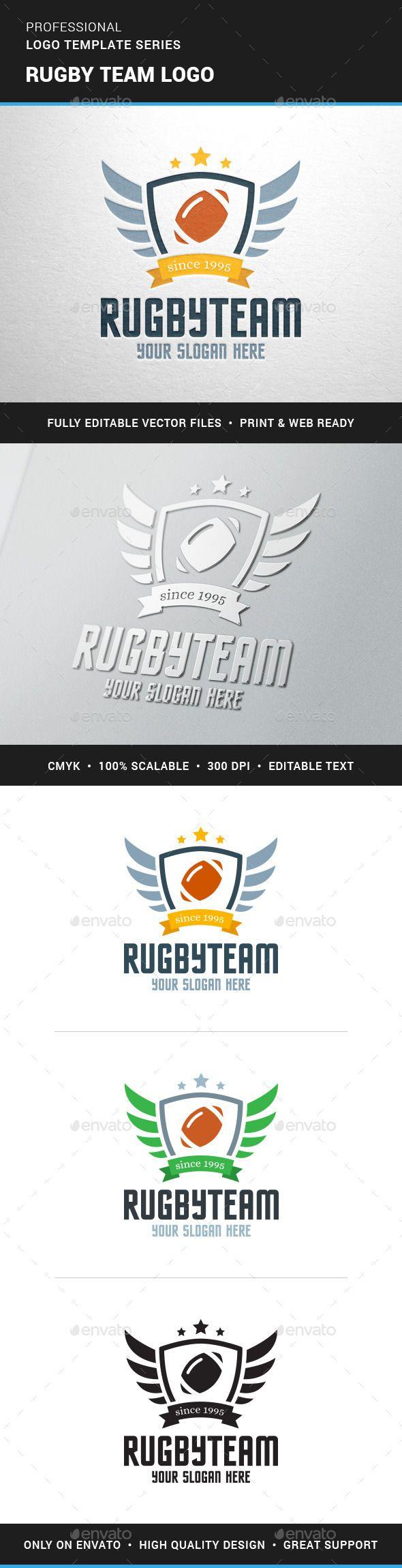 Rugby Team Logo Team Create Logo Design Team Logo Rugby Team