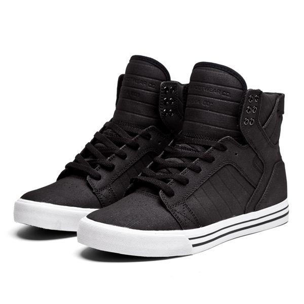 Black · SUPRA SKYTOP | BLACK/WHITE ...