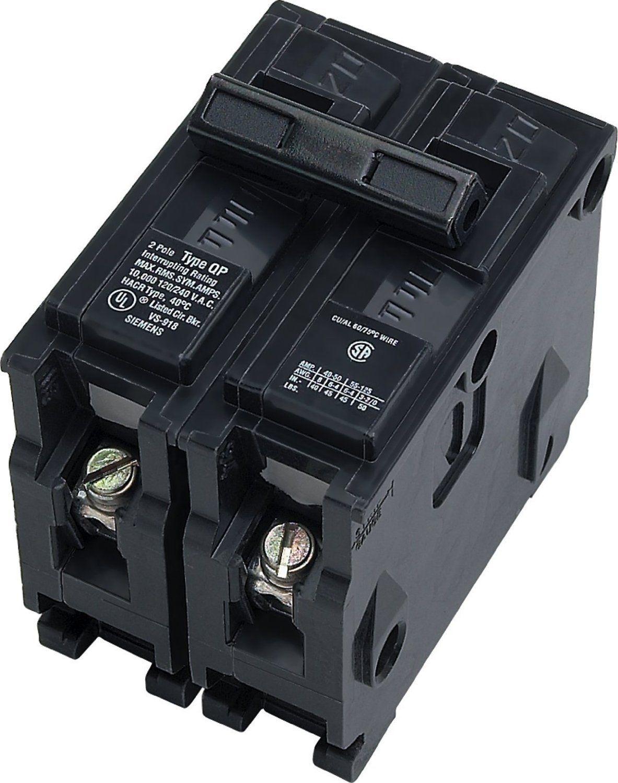 ITE SIEMENS 3 pole 40 amp circuit breaker 240 VOLT 3 PHASE