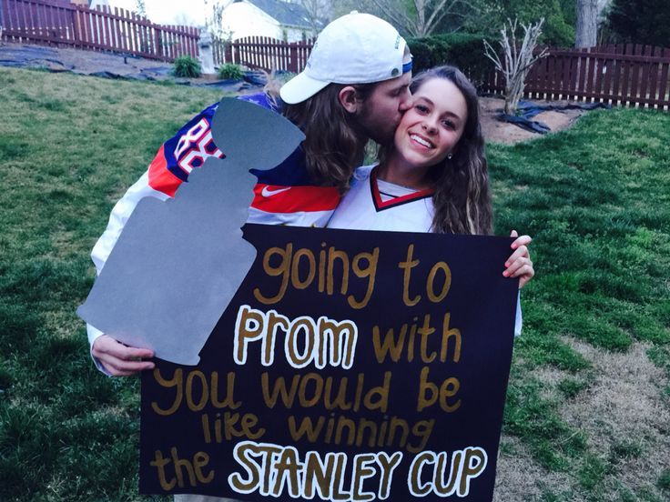 Promposal hockey style #hocoproposals