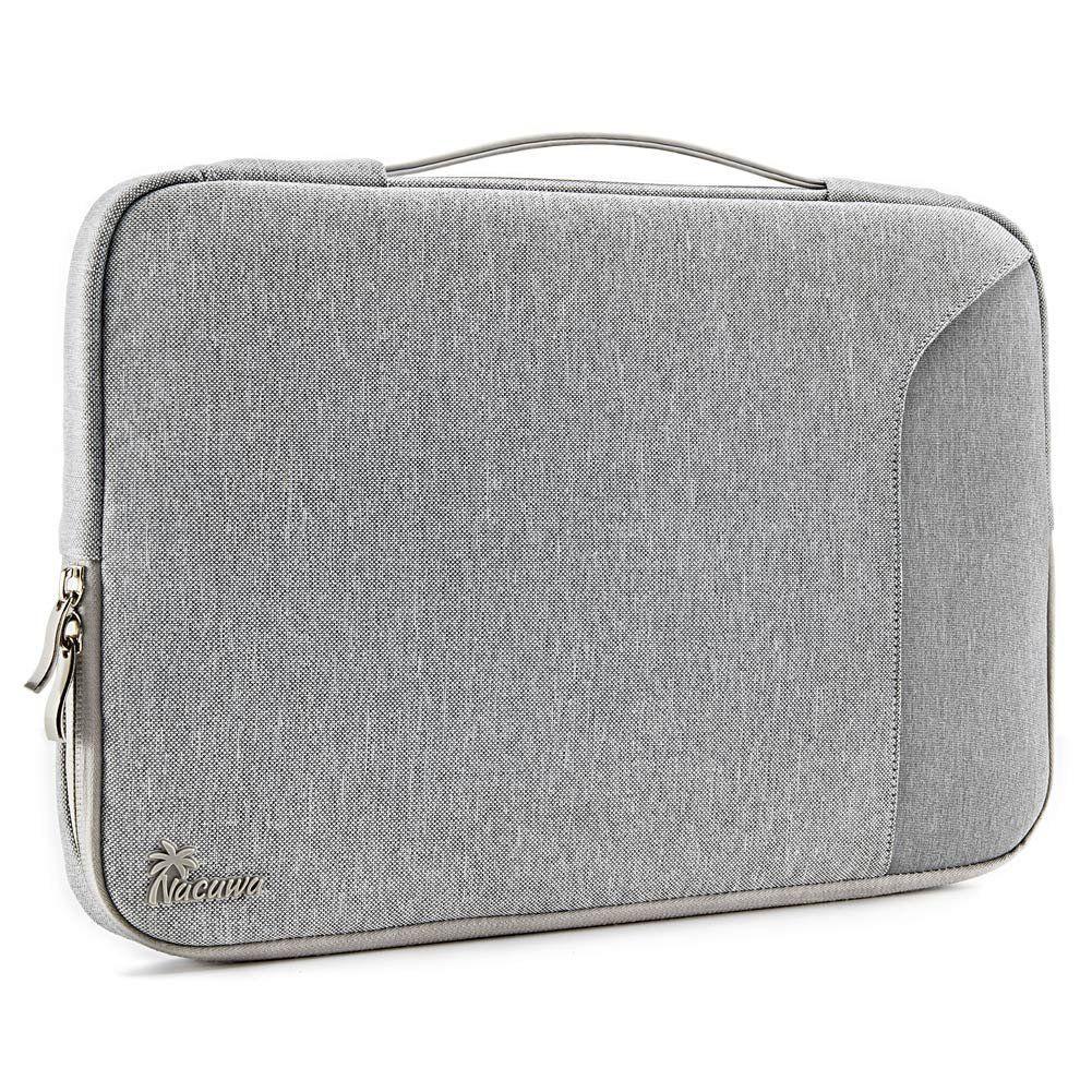 241fb838f11c Amazon.com: Laptop Sleeve, Nacuwa 360° Protective Sleeve for 13/13.3 ...