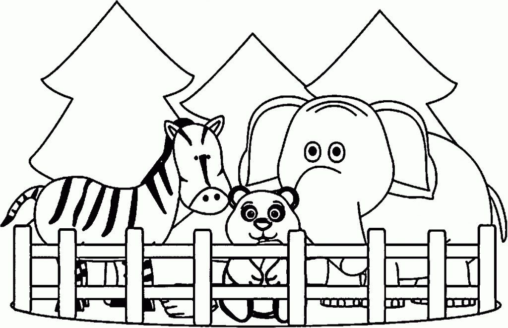 Zoo Animals Coloring Pages Best Coloring Pages For Kids Zoo Coloring Pages Zoo Animal Coloring Pages Animal Coloring Books